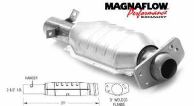 Exhaust - Catalytic Converter - MagnaFlow - MagnaFlow Direct Fit Catalytic Converter - 93486