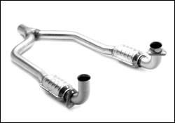 Exhaust - Catalytic Converter - MagnaFlow - MagnaFlow Direct Fit Performance Catalytic Converter - 93987