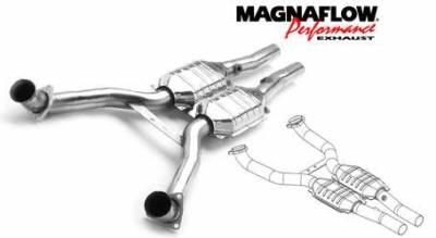 Exhaust - Catalytic Converter - MagnaFlow - MagnaFlow Direct Fit Catalytic Converter - 93988
