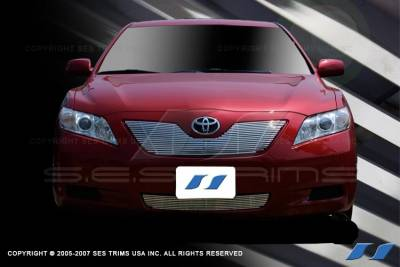 Grilles - Custom Fit Grilles - SES Trim - Toyota Camry SES Trim Billet Grille - 304 Chrome Plated Stainless Steel - CG161A-B