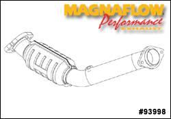Exhaust - Catalytic Converter - MagnaFlow - MagnaFlow Direct Fit Catalytic Converter - 93998