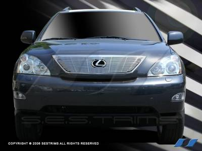 Grilles - Custom Fit Grilles - SES Trim - Lexus RX SES Trim Billet Grille - 304 Chrome Plated Stainless Steel - CG168