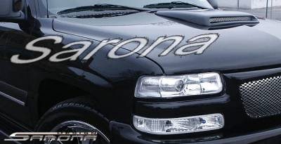 Body Kits - Hood Scoops - Sarona - Chevrolet Tahoe Sarona Hood Scoop - CH-001-HS