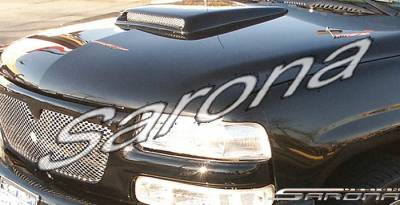 Body Kits - Hood Scoops - Sarona - Chevrolet Suburban Sarona Hood Scoop - CH-003-HS
