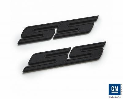 Accessories - Emblems - Defenderworx - Chevrolet Camaro Defenderworx SS Badge - Black - CB1002