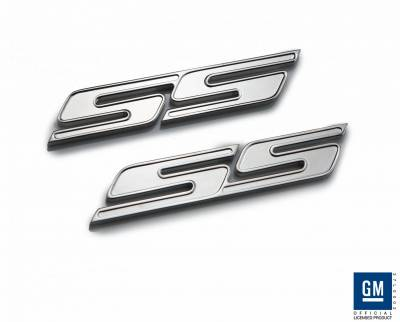 Accessories - Emblems - Defenderworx - Chevrolet Camaro Defenderworx SS Badge - Chrome - CC1002