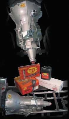 Gennie Shifter - Gennie Shifter TH700R4 Sizzler Transmission Package - ATTE - Includes Clutches - Bands - Pan - Improved Lubrication System - 9000G6