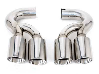 Exhaust - Exhaust Tips - FabSpeed - Dual Style Tips