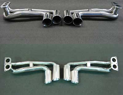 Exhaust - Exhaust Tips - FabSpeed - Tips Without Valves