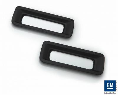 Defenderworx - Chevrolet Camaro Defenderworx Reverse Light Trim - Black - CB1012
