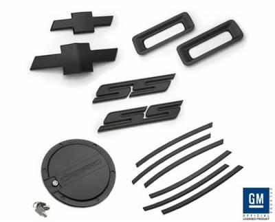 Accessories - Exterior Accessories - Defenderworx - Chevrolet Camaro Defenderworx SS Exterior Kit - Black - CB20SS