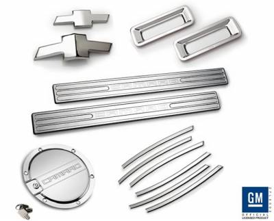 Defenderworx - Chevrolet Camaro Defenderworx Exterior Accessory Kit - Chrome - CC20LT