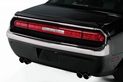 Challenger - Rear Bumper - Retro USA - Dodge Challenger Retro USA Rear Bumper - CH1RB-A