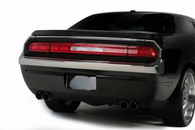 Challenger - Rear Add On - Retro USA - Dodge Challenger Retro USA Tail Light Molding Set - CH1TM-A