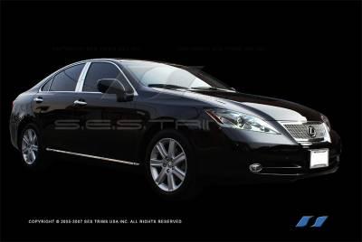 ES - Body Kit Accessories - SES Trim - Lexus ES SES Trim Chrome Body Side Molding - CM148