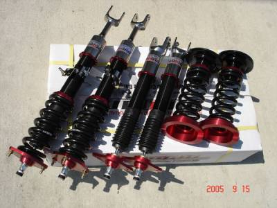 Suspension - Coil Overs - Megan Racing - Nissan 350Z Megan Racing Street Series Coilover Damper Kit - MR-CDK-N3Z