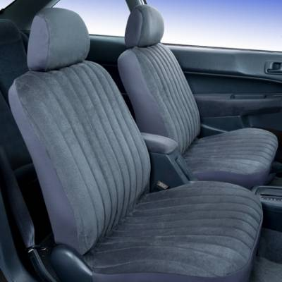 Car Interior - Seat Covers - Saddleman - Hyundai Accent Saddleman Microsuede Seat Cover