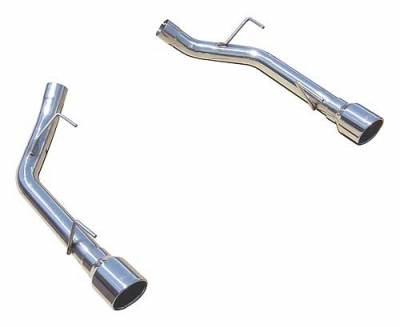 Exhaust - Custom Fit Exhaust - Pypes - Ford Mustang Pypes 304 Stainless Steel Muffler-Delete Axle-Back - 20022