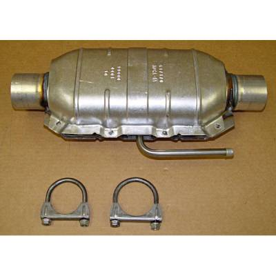 Exhaust - Catalytic Converter - Omix - Omix Catalytic Converter Kit with Hardware - 17601-04