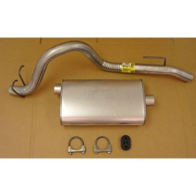 Exhaust - Custom Fit Exhaust - Omix - Omix Cat-Back Exhaust Kit - 17606-01