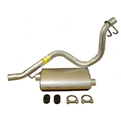 Exhaust - Custom Fit Exhaust - Omix - Omix Cat-Back Exhaust Kit - 17606-02
