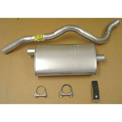 Exhaust - Custom Fit Exhaust - Omix - Omix Cat-Back Exhaust Kit - 17606-03