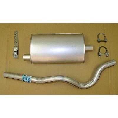 Exhaust - Custom Fit Exhaust - Omix - Omix Cat-Back Exhaust Kit - 17606-04