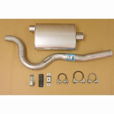 Exhaust - Custom Fit Exhaust - Omix - Omix Cat-Back Exhaust Kit - 17606-05