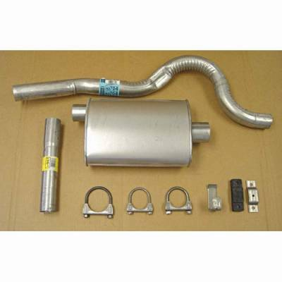 Exhaust - Custom Fit Exhaust - Omix - Omix Cat-Back Exhaust Kit - 17606-06