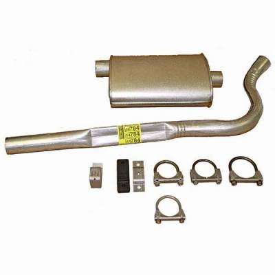 Exhaust - Custom Fit Exhaust - Omix - Omix Cat-Back Exhaust Kit - 17606-07