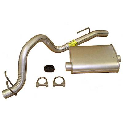 Exhaust - Custom Fit Exhaust - Omix - Omix Cat-Back Exhaust Kit - 17606-09