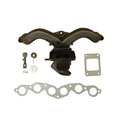 Exhaust - Exhaust Manifolds - Omix - Omix Exhaust Manifold Kit with Gasket - 17622-01