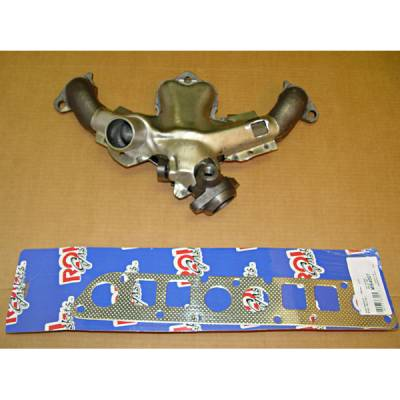 Exhaust - Exhaust Manifolds - Omix - Omix Exhaust Manifold Kit with Gasket - 17622-03