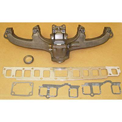 Exhaust - Exhaust Manifolds - Omix - Omix Exhaust Manifold Kit with Gasket - 17622-05