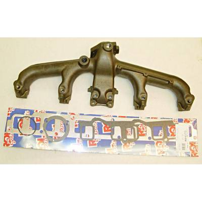 Exhaust - Exhaust Manifolds - Omix - Omix Exhaust Manifold Kit with Gasket - 17622-06