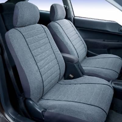 Car Interior - Seat Covers - Saddleman - Isuzu Ascender Saddleman Cambridge Tweed Seat Cover
