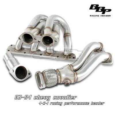 Exhaust - Headers - OptionRacing - Chevrolet Cavalier Option Racing Racing Exhaust Header - 43-15109