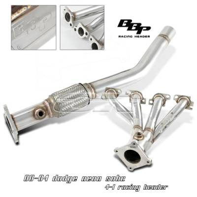 Exhaust - Headers - OptionRacing - Dodge Neon Option Racing Racing Exhaust Header - 43-17111