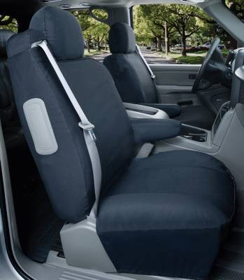 Car Interior - Seat Covers - Saddleman - Chevrolet Avalanche Saddleman Canvas Seat Cover