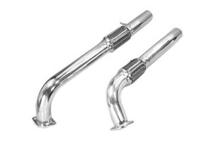 Exhaust - Custom Fit Exhaust - Pacesetter - Off Road Exhaust Downpipe - 82-1508