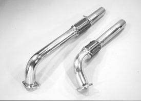 Exhaust - Custom Fit Exhaust - Pacesetter - Off Road Exhaust Downpipe - 82-1510
