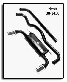 Exhaust - Custom Fit Exhaust - Pacesetter - MONZA Performance Catback Exhaust System - 88-1430