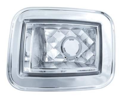 Headlights & Tail Lights - Corner Lights - In Pro Carwear - Hummer H2 IPCW Park Signals - Front - Diamond-Cut - 1 Pair - CWC-348C