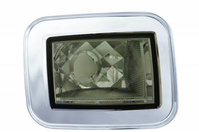 Headlights & Tail Lights - Corner Lights - In Pro Carwear - Hummer H2 IPCW Park Signals - Front - Diamond-Cut - 1 Pair - CWC-348CS