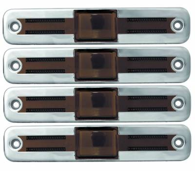 Headlights & Tail Lights - Corner Lights - In Pro Carwear - Hummer H2 IPCW Side Marker Covers - 4PC - CWS-349S