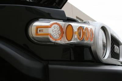 Headlights & Tail Lights - Corner Lights - In Pro Carwear - Toyota FJ Cruiser IPCW LED Park Signals - Front - 1 Pair - LEDC-2038C