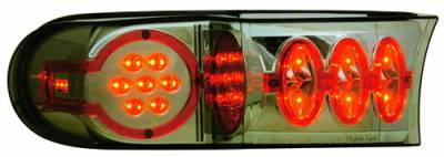 Headlights & Tail Lights - Corner Lights - In Pro Carwear - Toyota FJ Cruiser IPCW LED Park Signals - Front - 1 Pair - LEDC-2038S