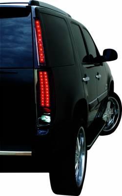 Headlights & Tail Lights - Corner Lights - In Pro Carwear - GMC Yukon IPCW Upper Quarter Light - LED - 1 Pair - LEDT-313CB