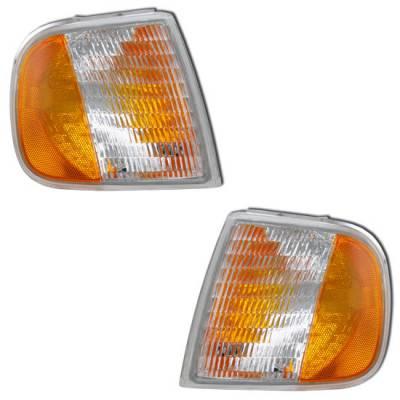 Headlights & Tail Lights - Corner Lights - MotorBlvd - Ford Corner Lights