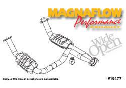 Exhaust - Crossover Pipes - MagnaFlow - MagnaFlow Transition Tru-X Crossover Pipe - 15477